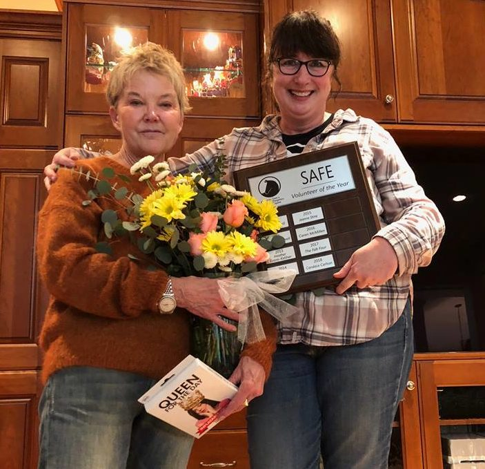 2018 Volunteer of the Year: Candace Carlson