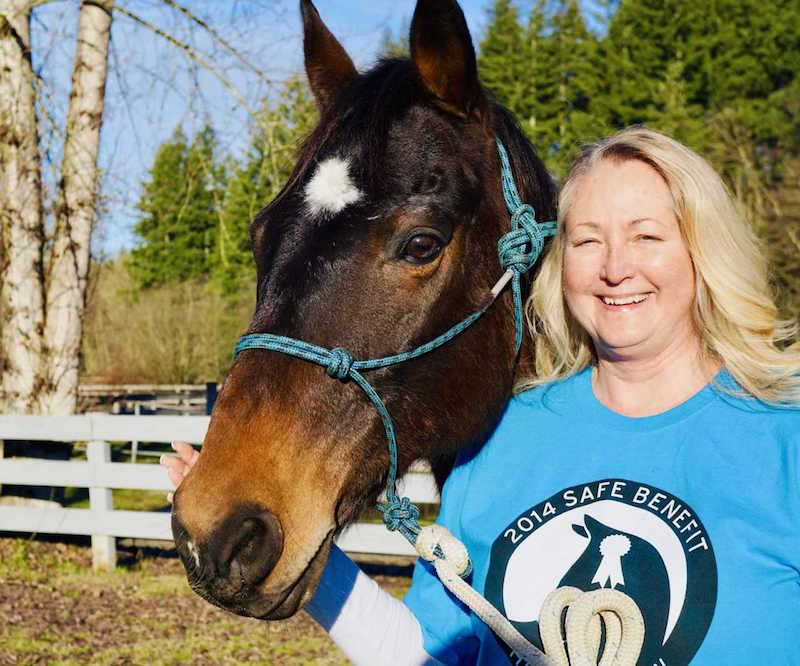 February Volunteers of the Month: Lori Page and Kaya Mead