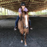 Lacey's New Riding Partner