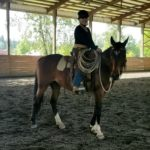 Cassidy's first time in the big arena